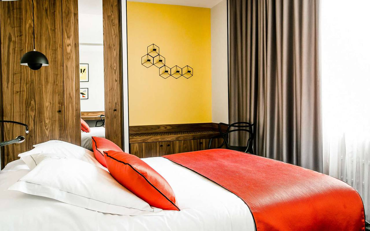 Room boutique hotel Dijon Chapeau Rouge