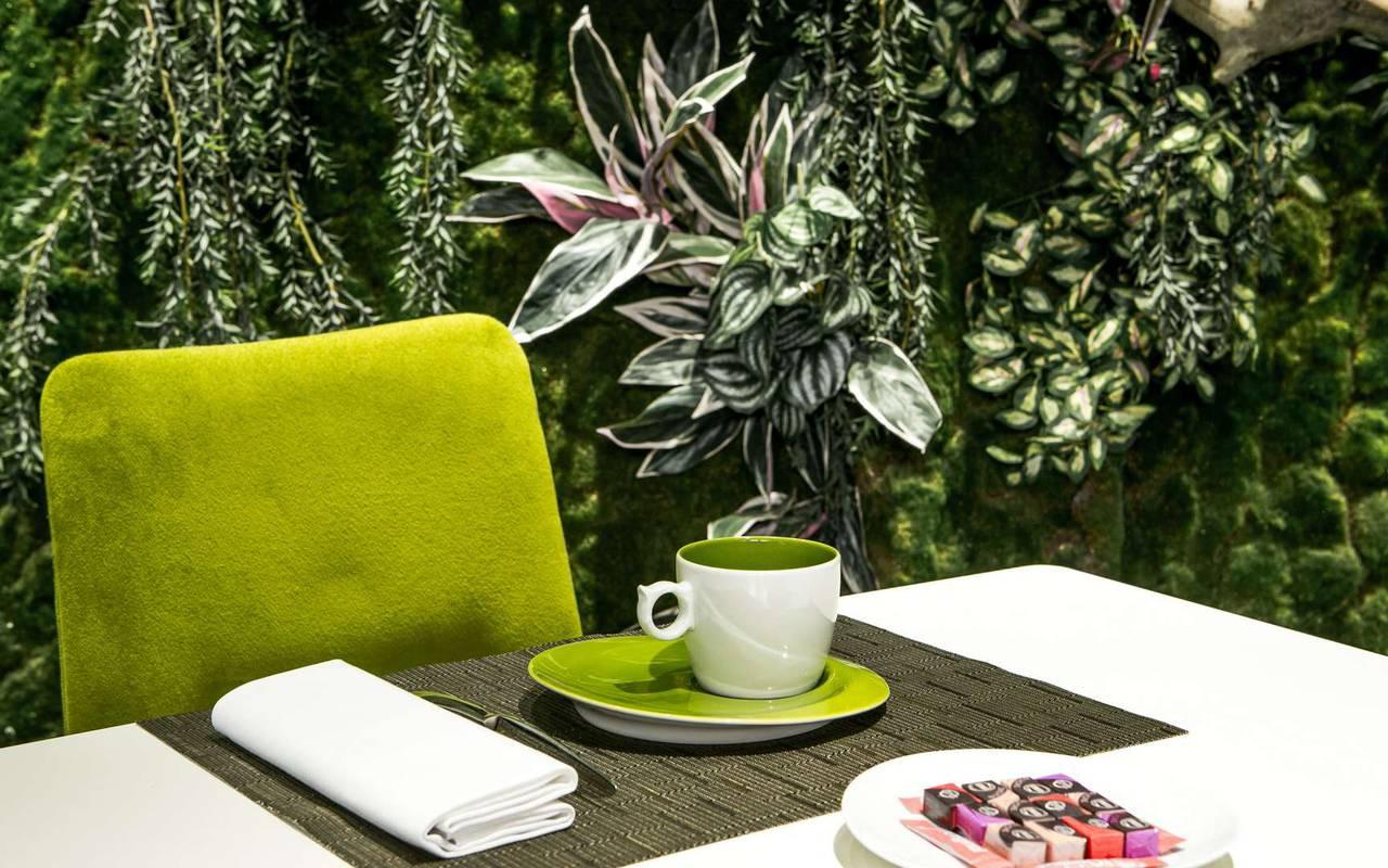 Delicious coffee Hotel spa Dijon