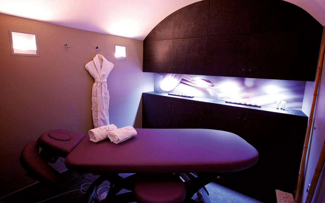 Massage room Hotel de charme Dijon