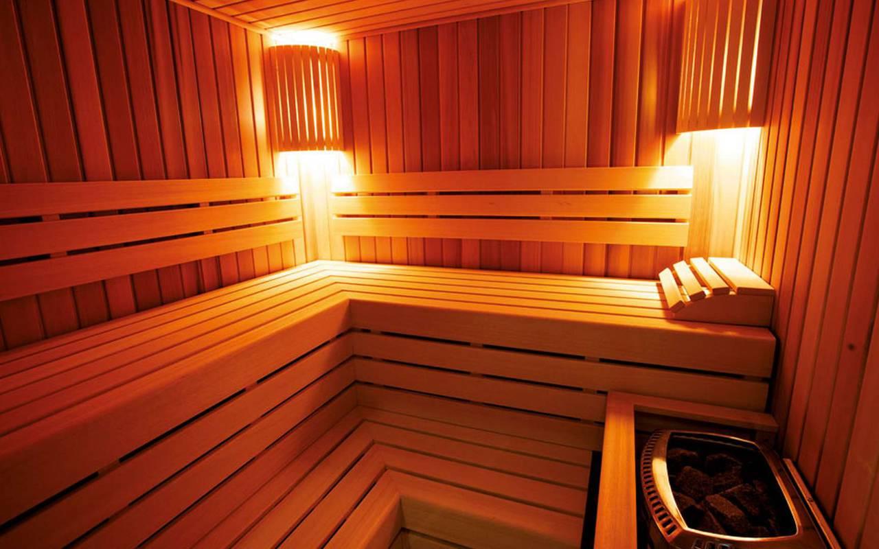 Luxurious sauna Hotel de charme Dijon