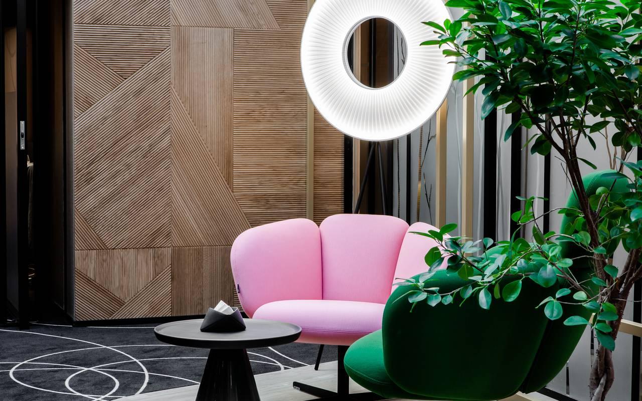 Living room Hotel de charme Dijon