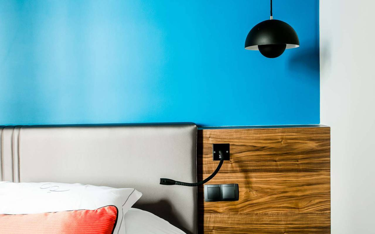Chambre raffinée Dijon hôtel cote d'or