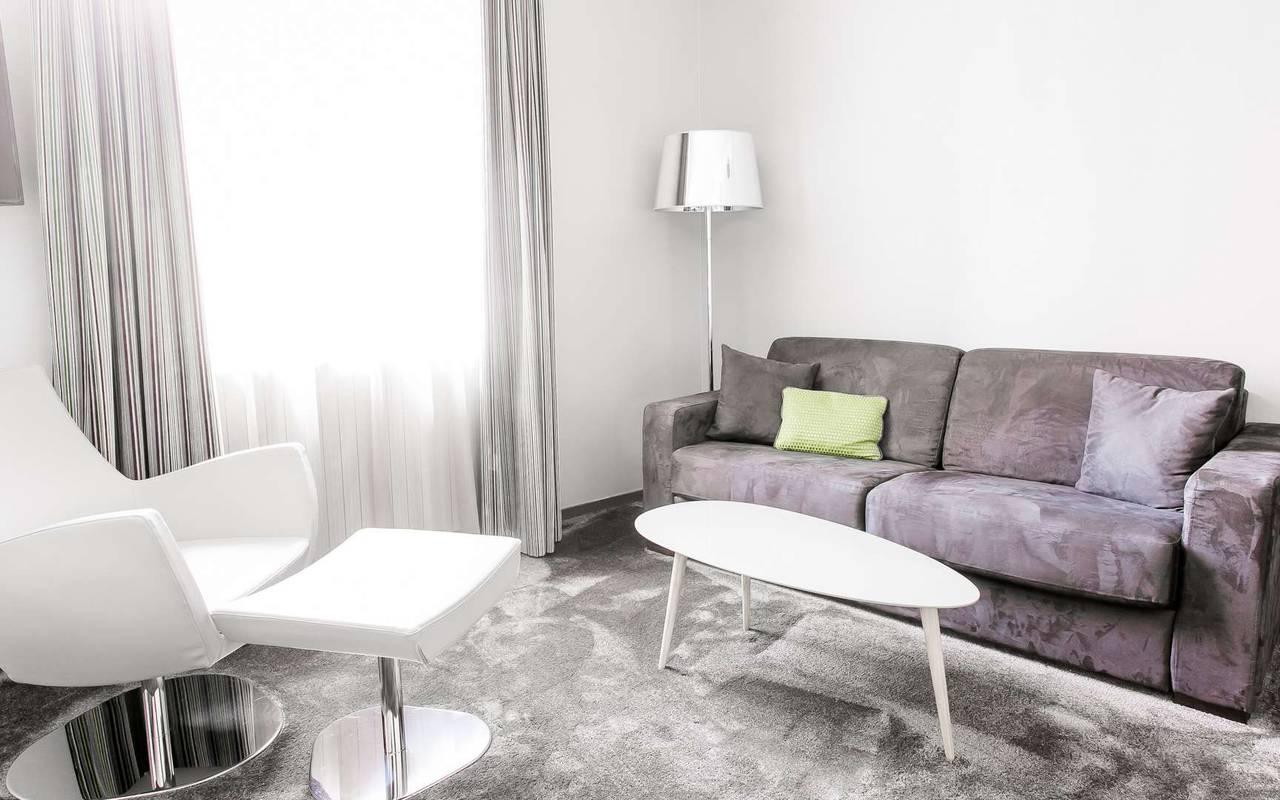 Chambre Deluxe hôtel Dijon