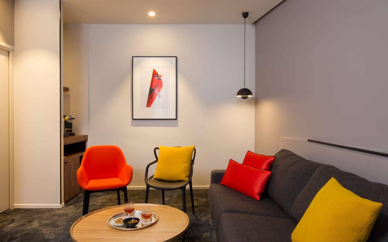 Suite spacieuse hôtel de luxe en Bourgogne