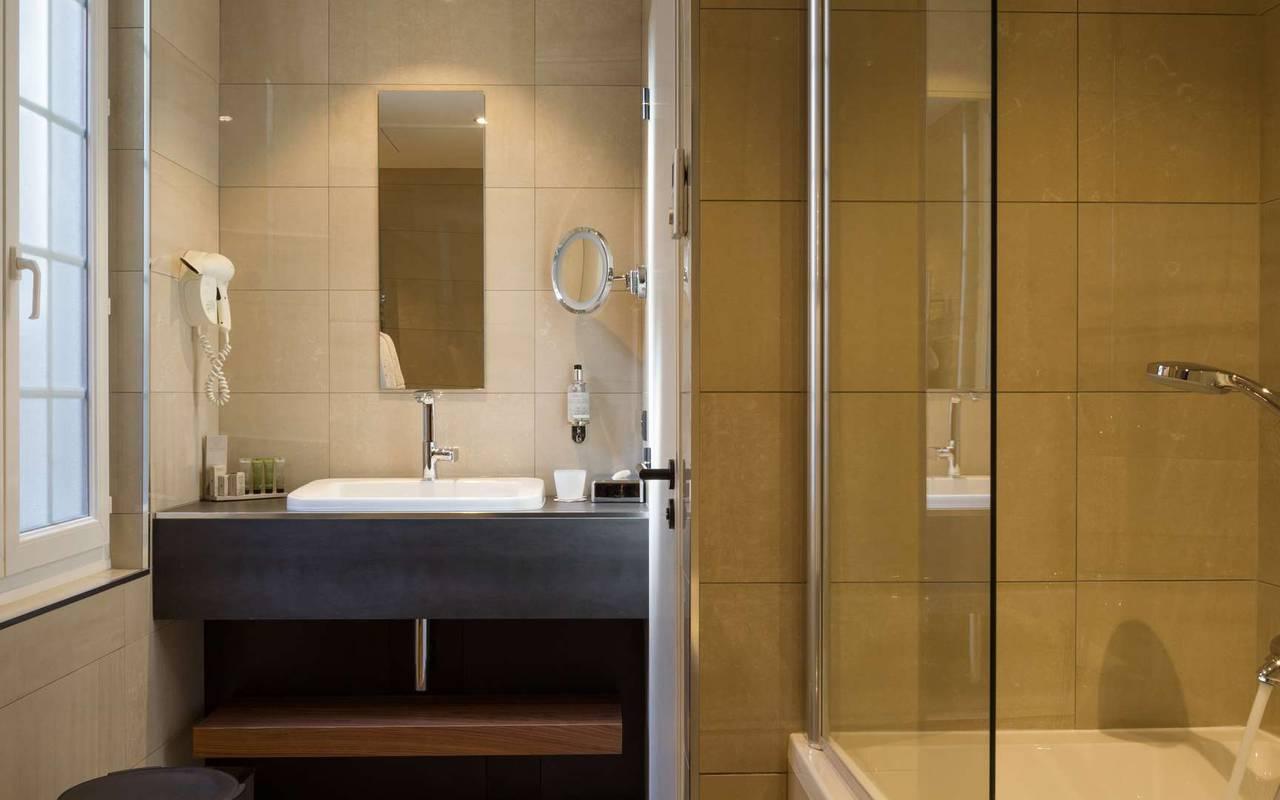 Salle de bain Chapeau Rouge hôtel de luxe àDijon