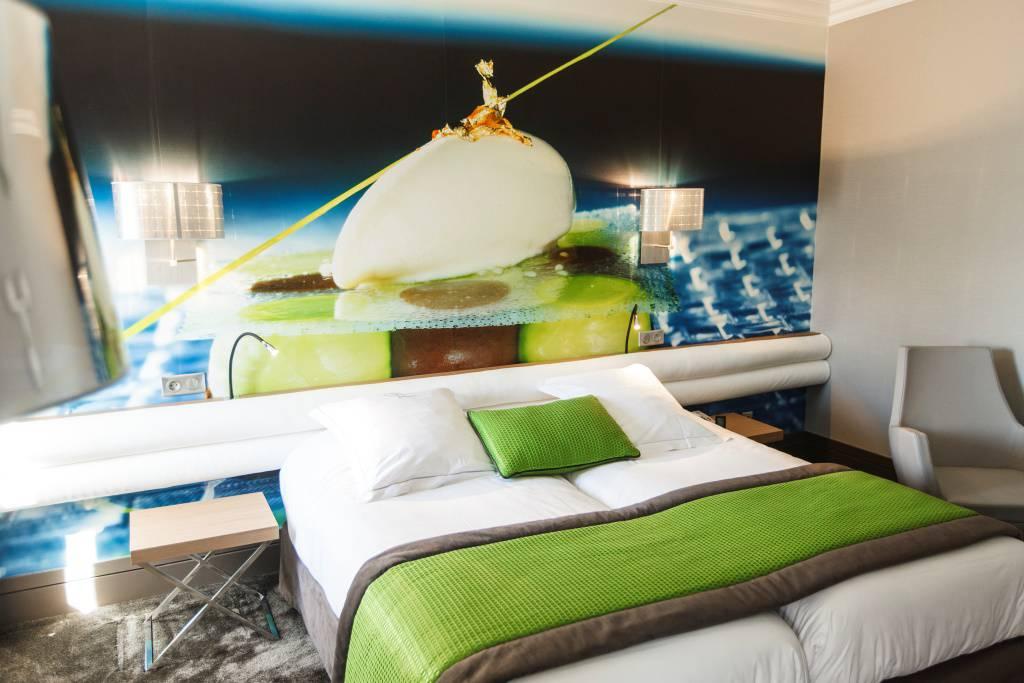 Chambre confortable Dijon hôtel spa