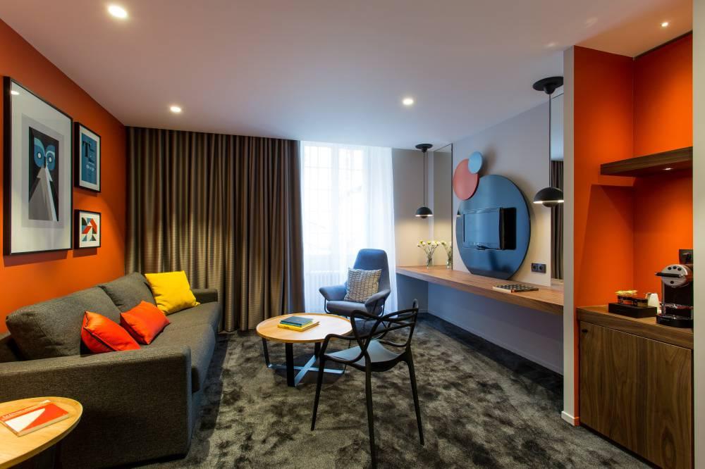 Suite de charme hôtel Dijon pour séjour de luxe