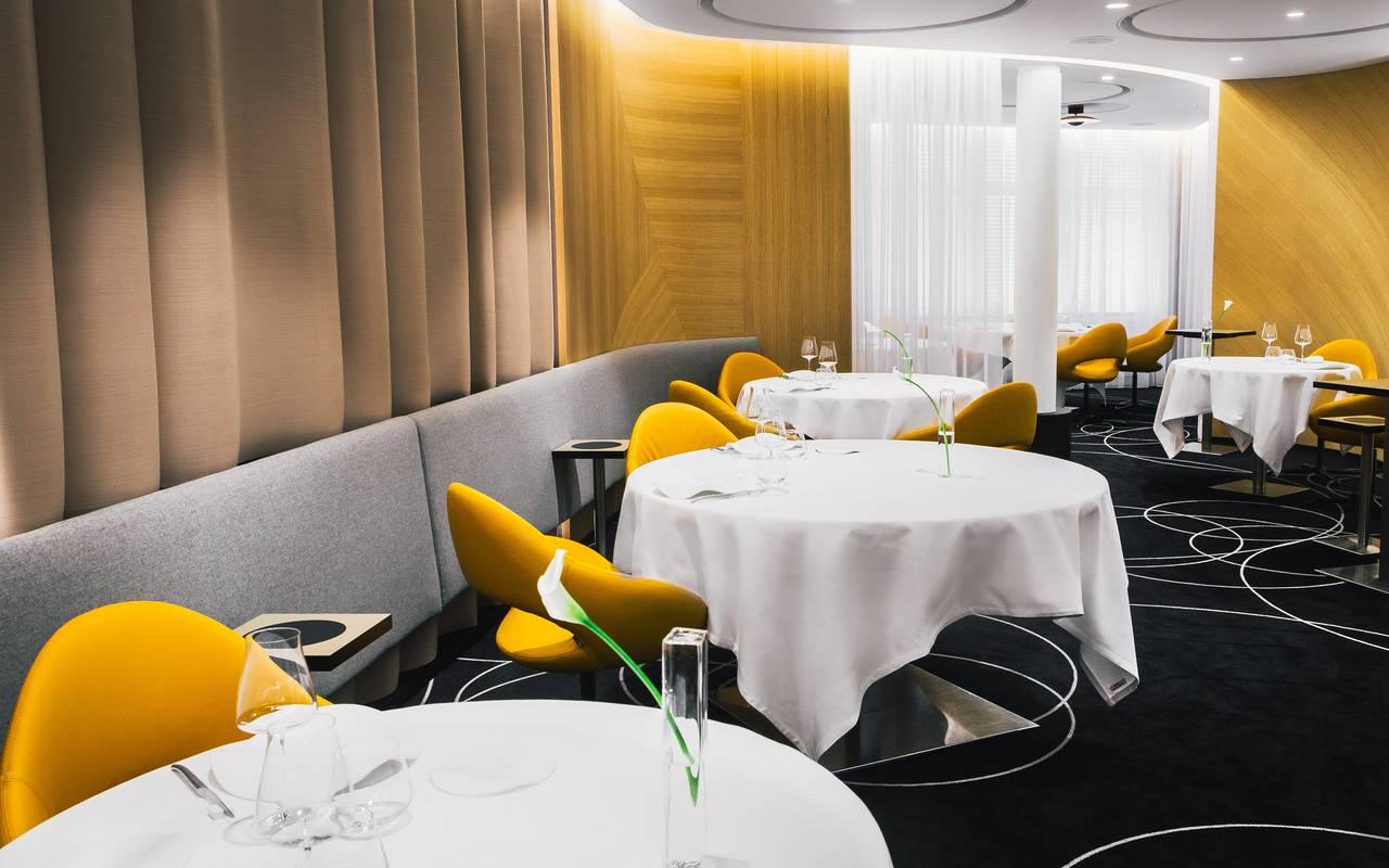 Salle de restaurant Hotel de charme Dijon