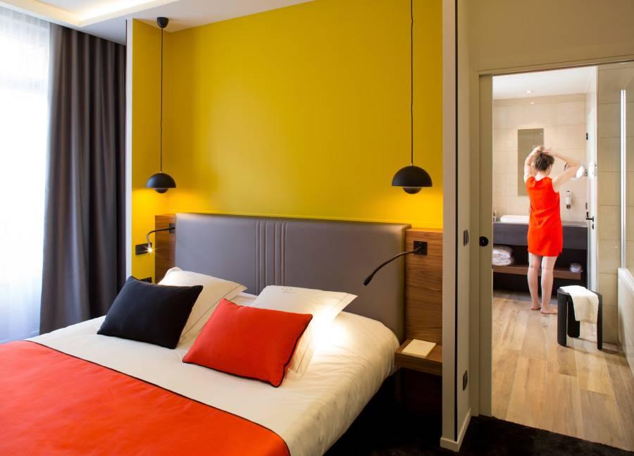 Suite Junior à Dijon hôtel spa Bourgogne